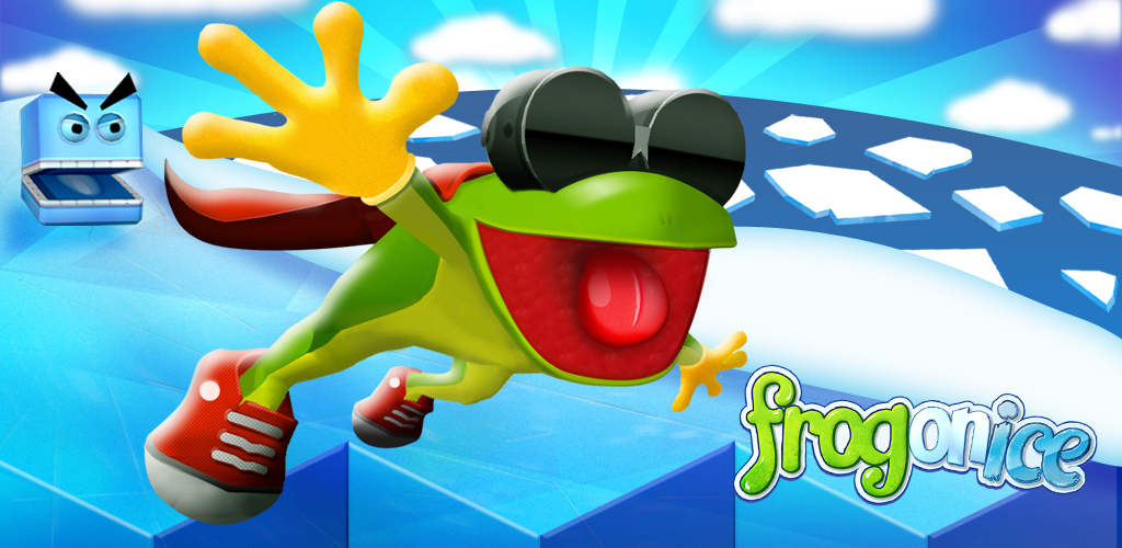 Frog on Ice, frog slinging fun!