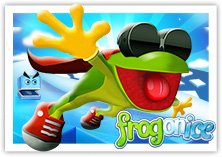 frog on ice thumbnail screen